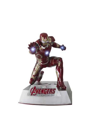 Avengers: Age of Ultron: IRON MAN (MK43) - Life-Size Statue, kneeling