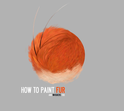 The Fur Tutorial For Digital Painting By Dan LuVisi