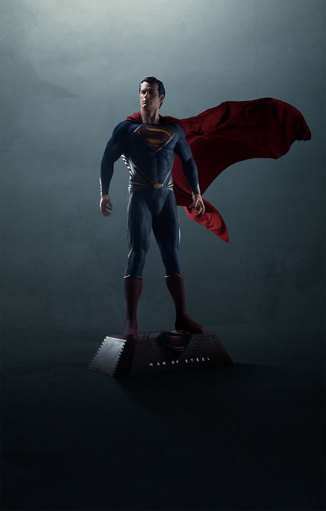 Man Of Steel: SUPERMAN - Life-Size Statue