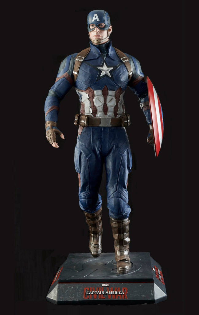"CAPTAIN AMERICA: CIVIL WAR - ""CAPTAIN AMERICA"" LIFE-SIZE STATUE"