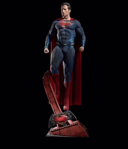 Batman v Superman - Dawn of Justice: SUPERMAN - Life-size statue
