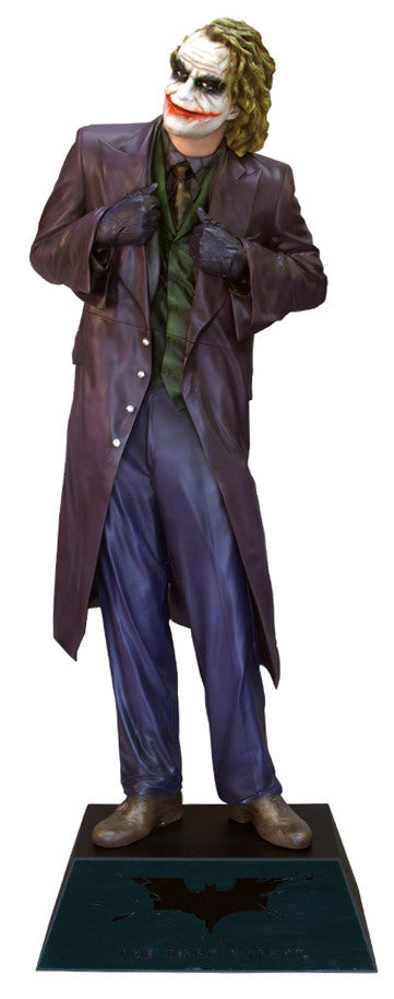 The Dark Knight: THE JOKER - Life-size Collectible Statue