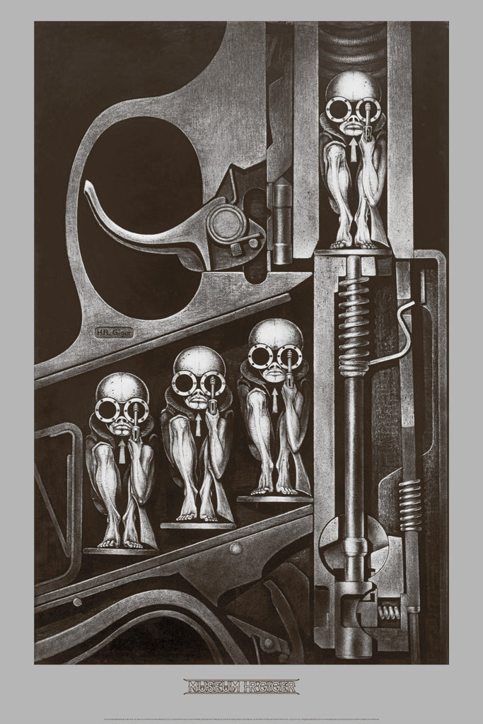 BIRTHMACHINE by H.R. Giger