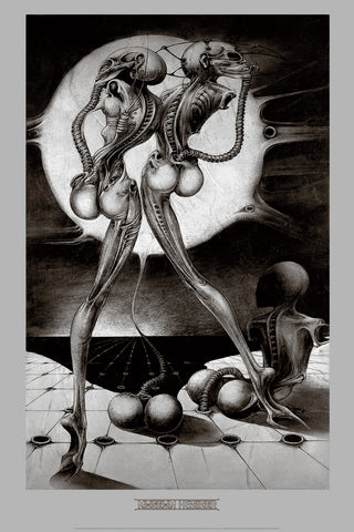 ATOMIC CHILDREN by H.R. Giger