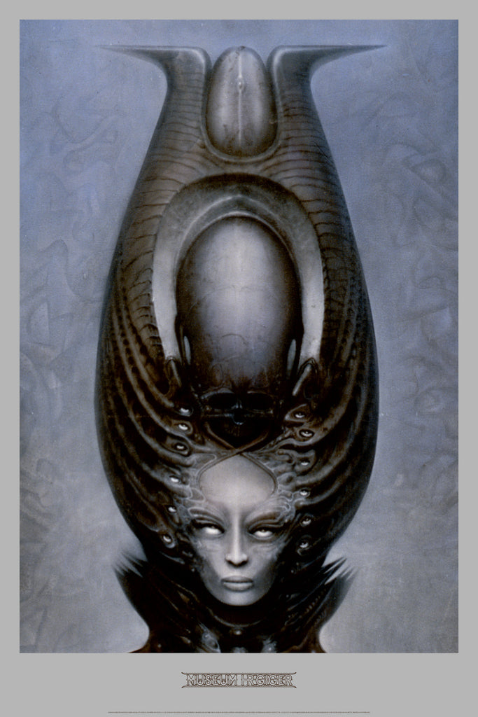 MAGICIAN by H.R. Giger