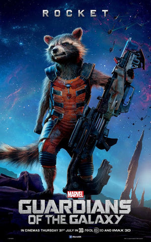 Guardians Of The Galaxy: ROCKET - Life-size Collectible Statue