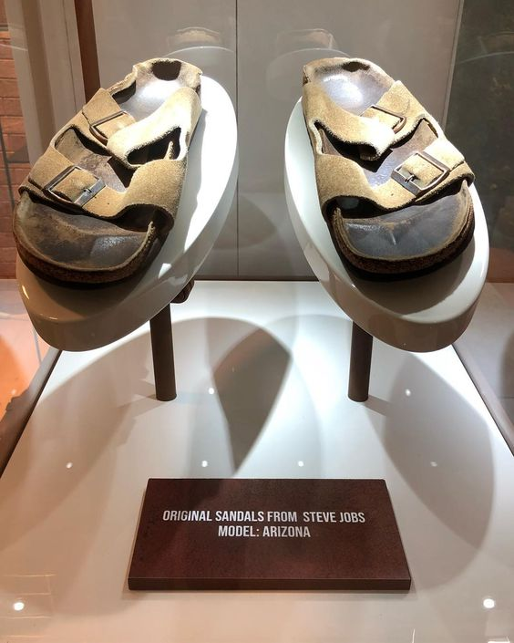 STEVE JOBS' PERSONALLY OWNED & WORN SANDALS