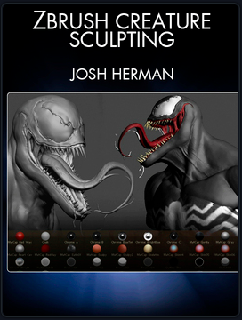 The Creature Sculpting Tutorial For Digital Painting By Josh Herman