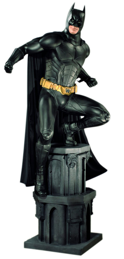 Batman Begins: BATMAN - Life-size Collectible Statue (NOTE: ONLY AVAILABLE UNTIL 12/15/2019)