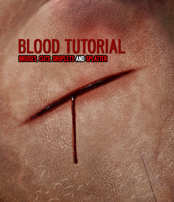 The Blood Tutorial For Digital Painting By Dan LuVisi