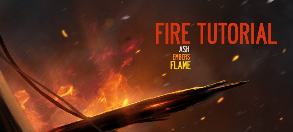 The Fire, Smoke & Spark Tutorial For Digital Painting By Dan LuVisi