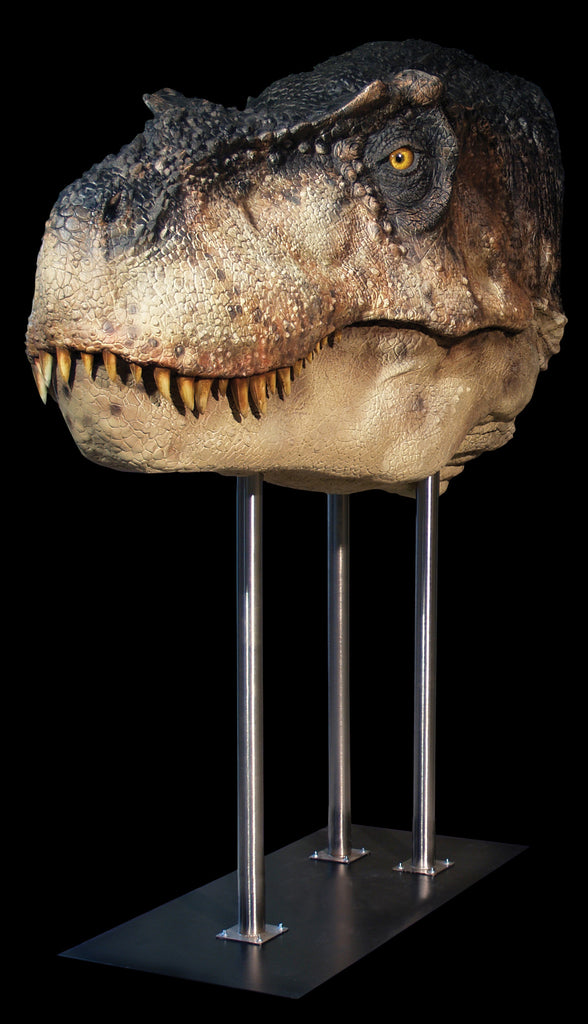 Dinosaurs: T-REX (closed jaw) - Life-size Collectible Statue