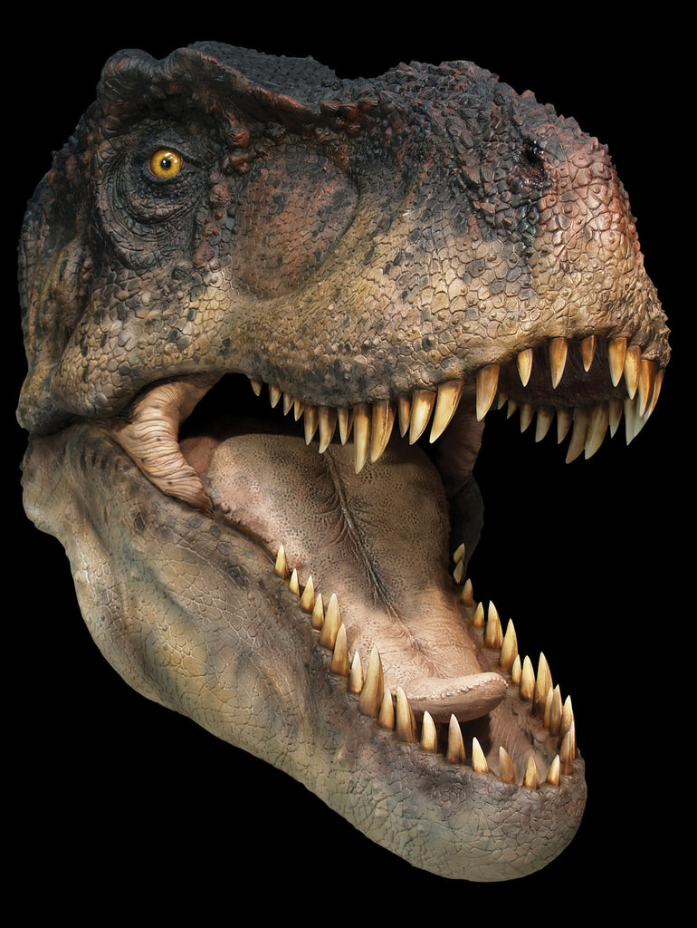 Dinosaurs: T-REX (open jaw) - Life-size Collectible Statue