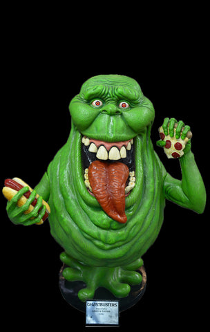 "GHOSTBUSTERS - Life-size ""SLIMER"" glow-in-the-dark statue"
