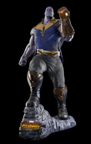 AVENGERS INFINITY WAR - Life-size THANOS Statue - (IN STOCK - click to see about great discount!)