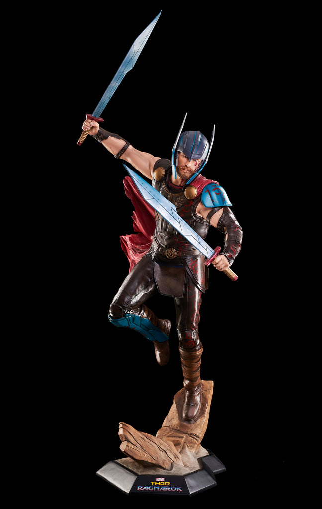 THOR RAGNAROK - Life-size THOR Statue (NOTE: ONLY AVAILABLE UNTIL 12/15/2019)
