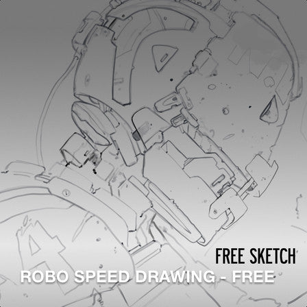 ROBO - Speed Drawing Tutorial (FREE) By Dan LuVisi