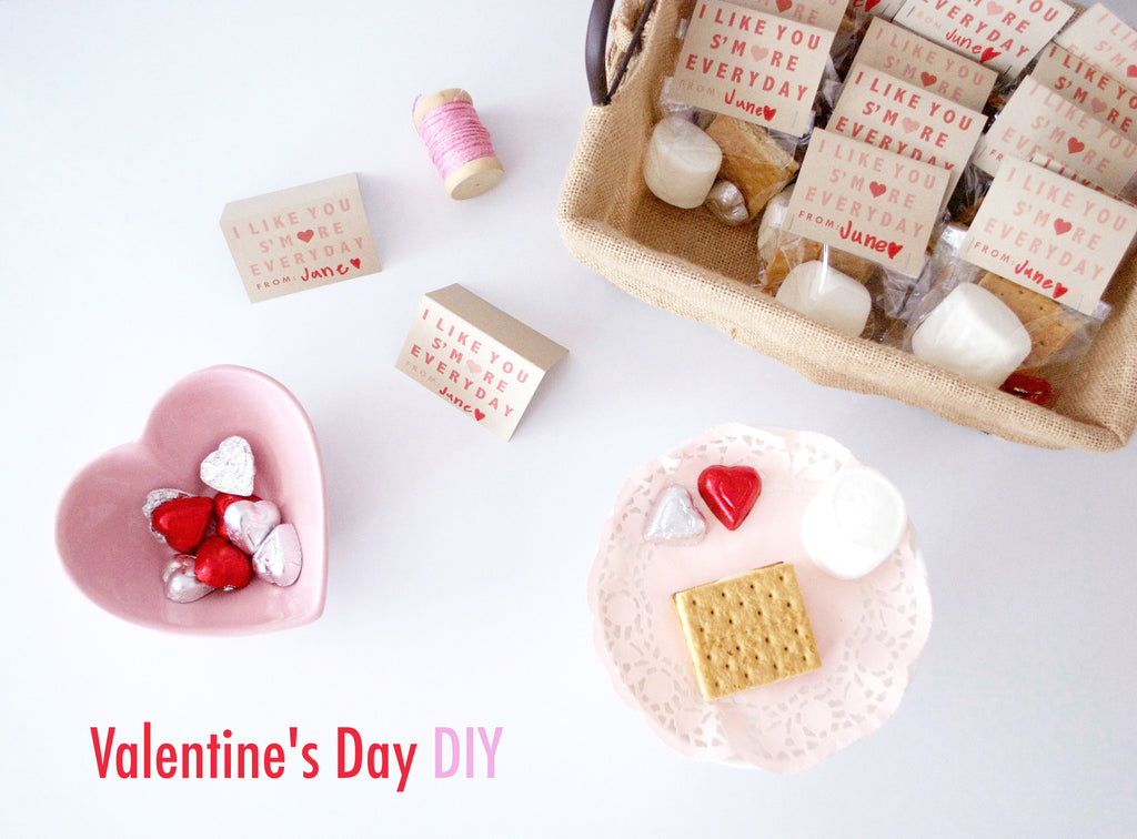 V-Day DIY: I Like You S'more Everyday! ❤️❤️❤️