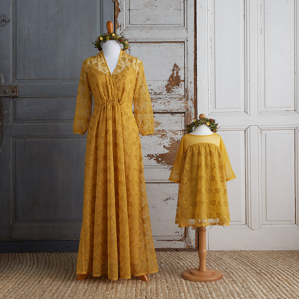 Dandelion Lace Dress (Girls) - Limited Edition