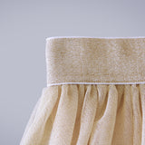Twirly Tulle Skirt - Gold Lurex (Women)