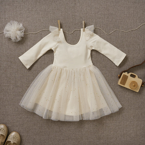 Ballerina Dress - Powder