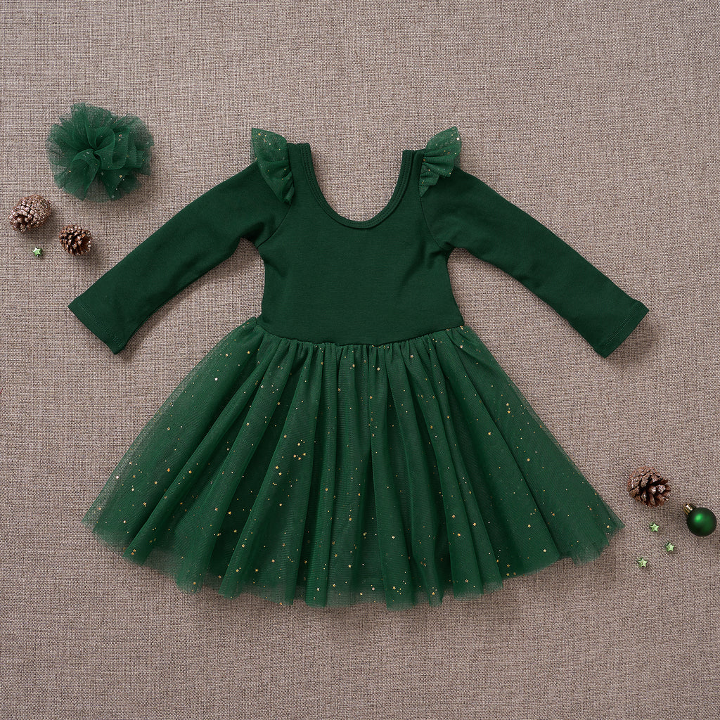 Ballerina Dress - Spruce (FINAL SALE)