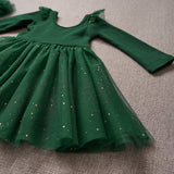 Ballerina Dress - Spruce (Size 12/18m & 2T Only)