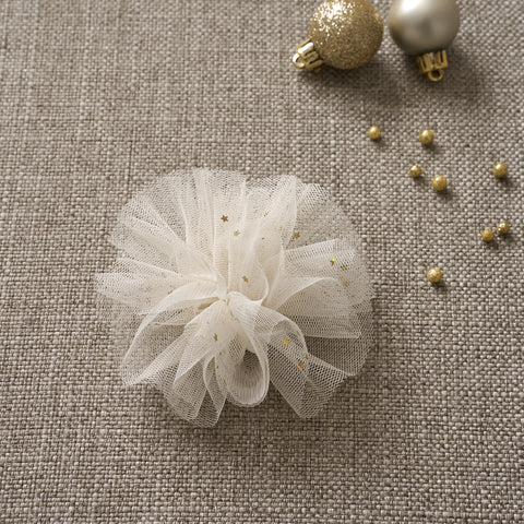 Ballerina Hair Clip - Powder