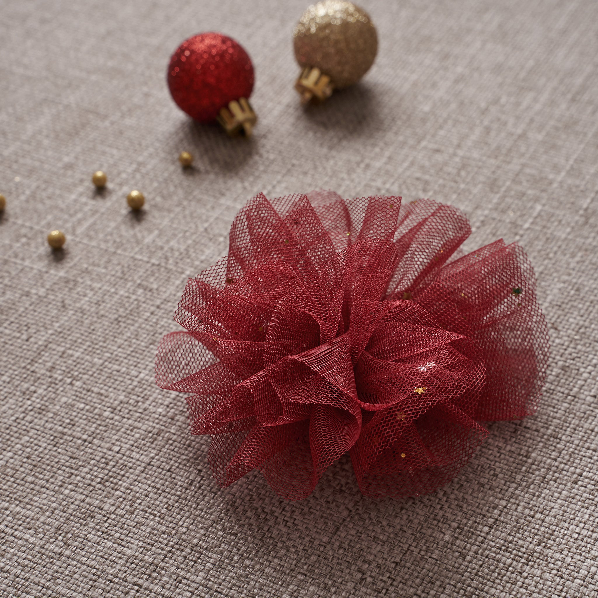 Ballerina Hair Clip - Winterberry