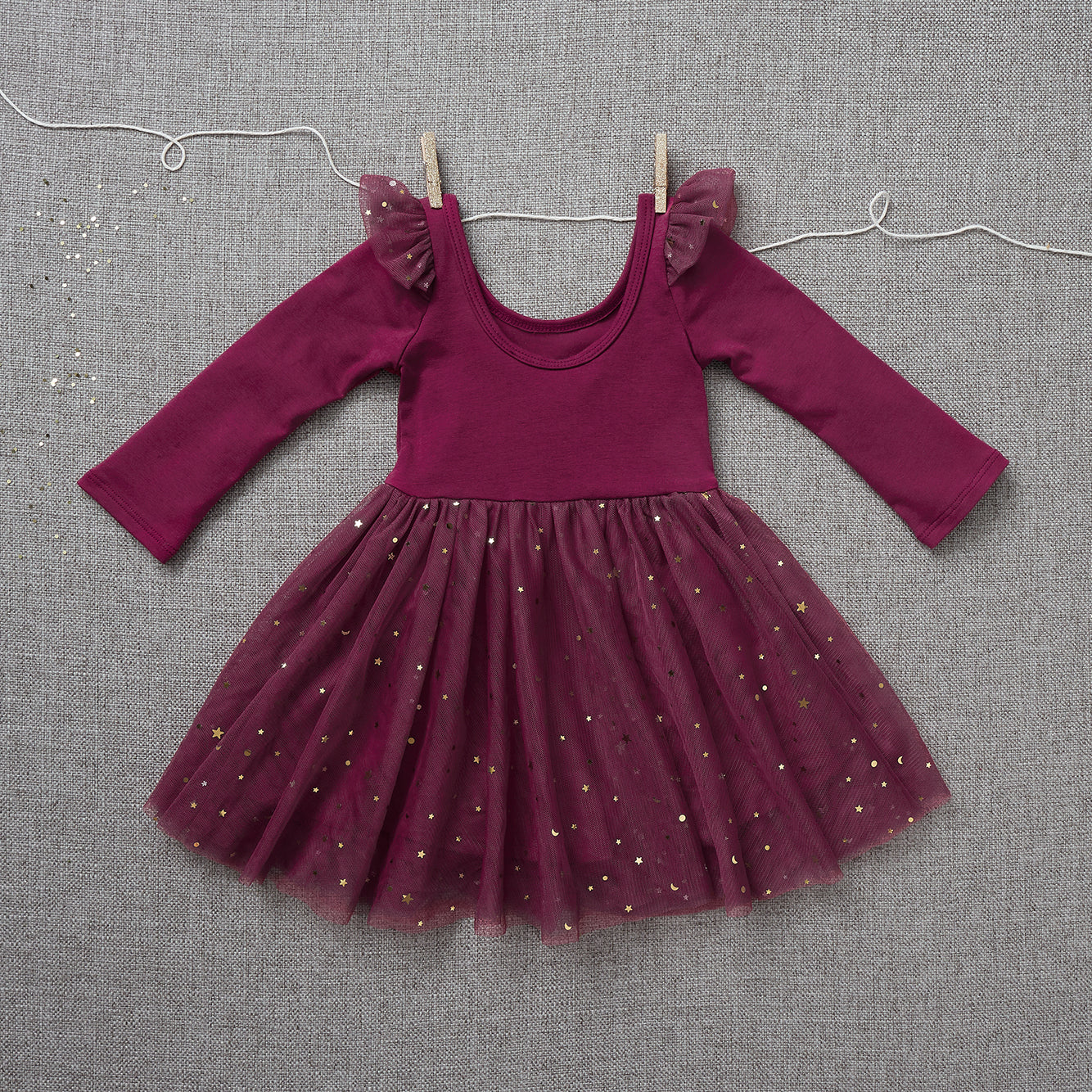 Ballerina Dress - Raspberry Jam