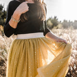 Twirly Tulle Skirt (Women) - Amber (Final Sale - Size XS Only)