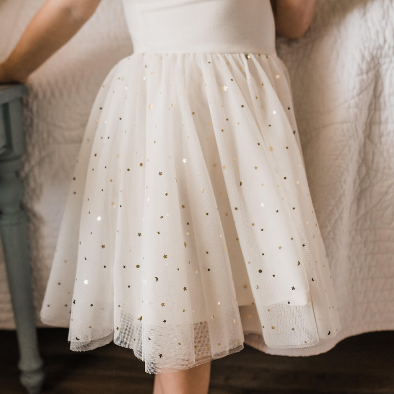 Ballerina Dress - Marshmallow