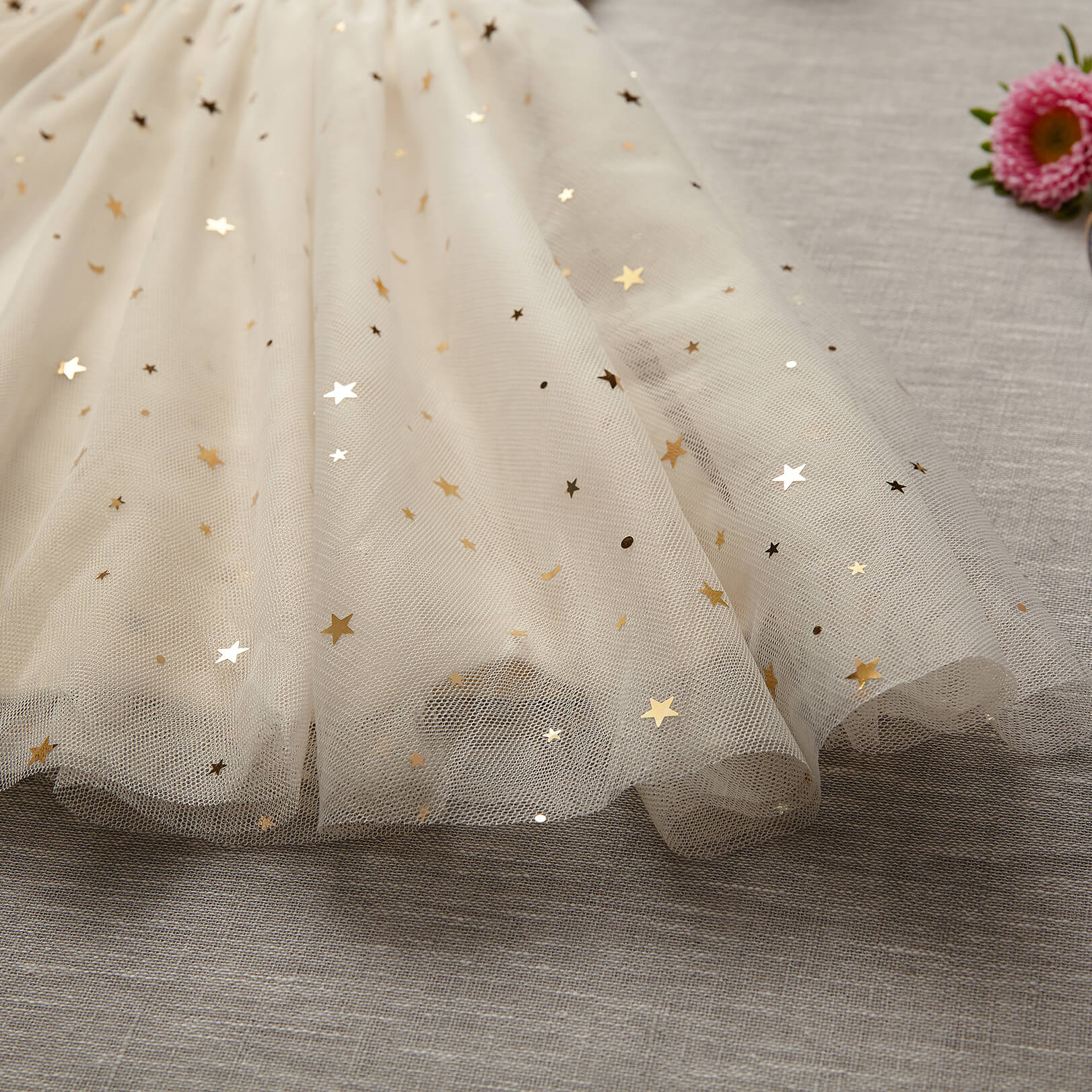 Midi Tulle Skirt (Women) - Marshmallow (FINAL SALE- Size L Only)