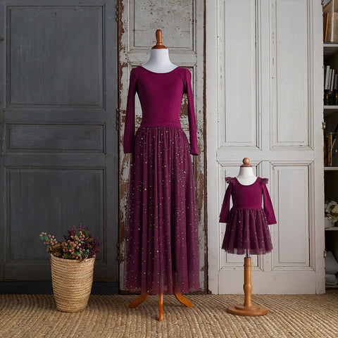 Ballerina Dress (Women) - Raspberry Jam