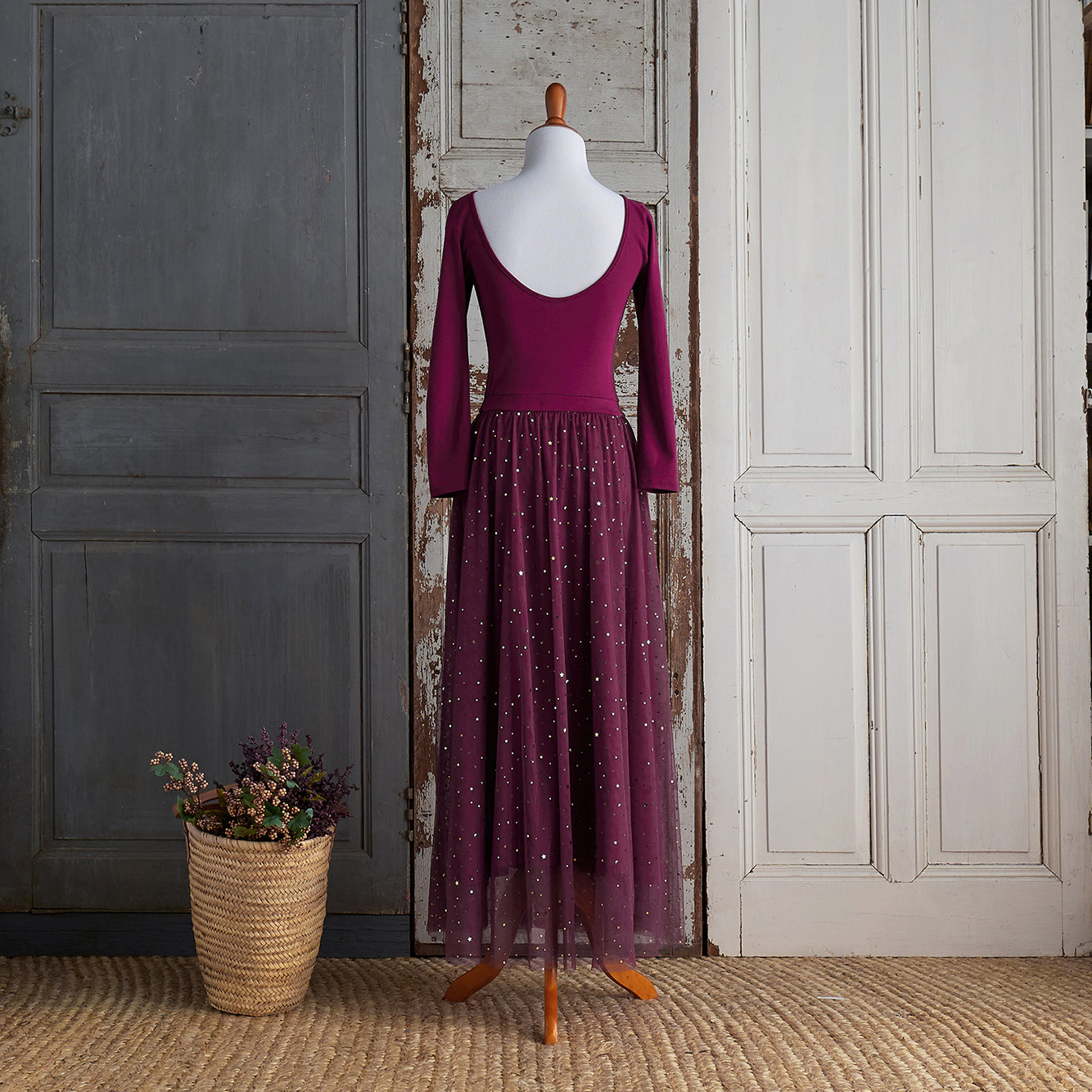 Ballerina Dress (Women) - Raspberry Jam (FINAL SALE - Sizes XS & M Only)
