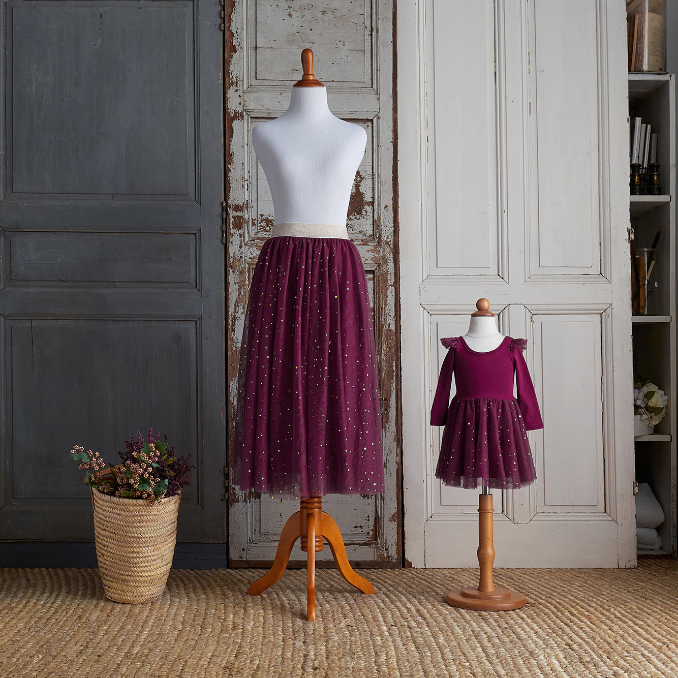 Twirly Tulle Skirt (Women) - Raspberry Jam (FINAL SALE- Size M & L Only)