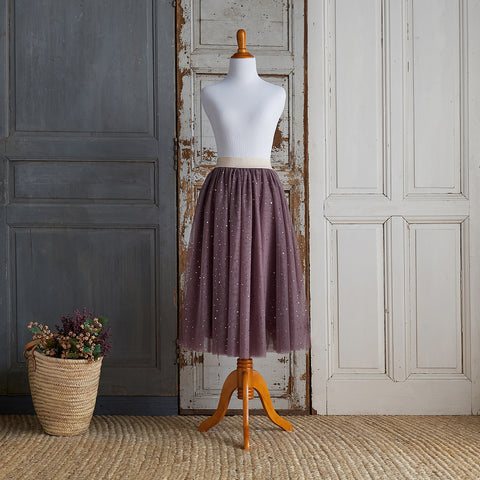 Twirly Tulle Skirt (Women) - Amethyst