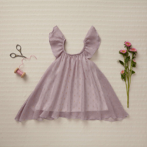 Little Gems Dress - Purple Topaz (Final Sale)