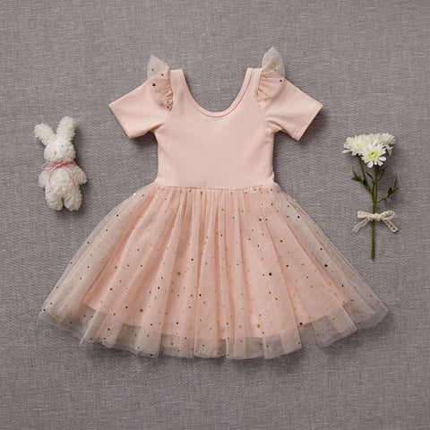 Ballerina Dress - Just Peachy