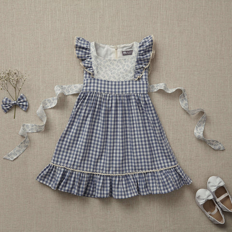 Flutter Dress - Summer Picnic (Size 18/24m Only)