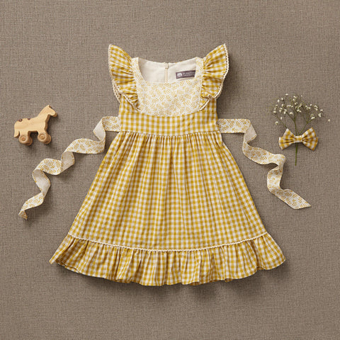 Flutter Dress - Butterscotch