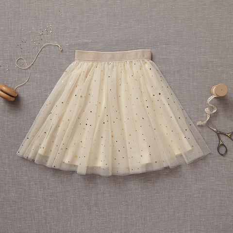 Twirly Tulle Skirt - Marshmallow