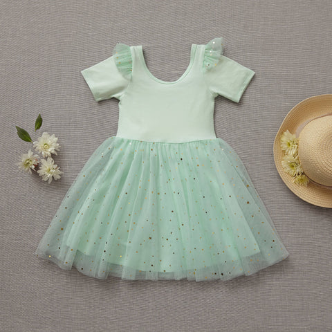 Ballerina Dress - Mint-To-Be