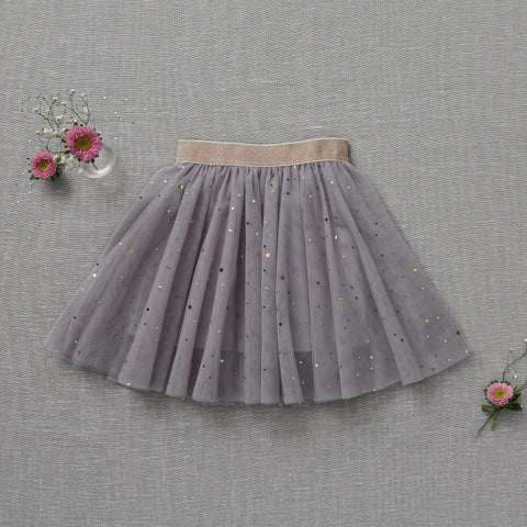 Twirly Tulle Skirt - Lilac (Final Sale - Size 6/9m Only)