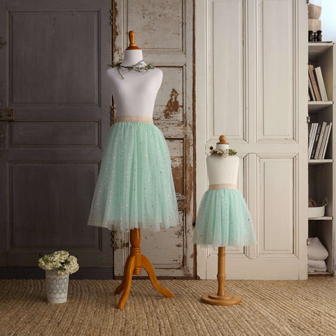 Midi Tulle Skirt (Women) - Mint-To-Be (FINAL SALE - Sizes XS & L)