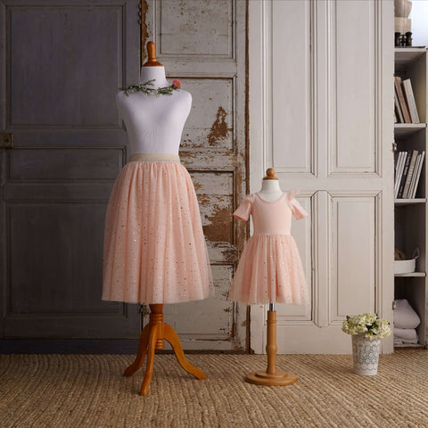 Midi Tulle Skirt (Women) - Just Peachy