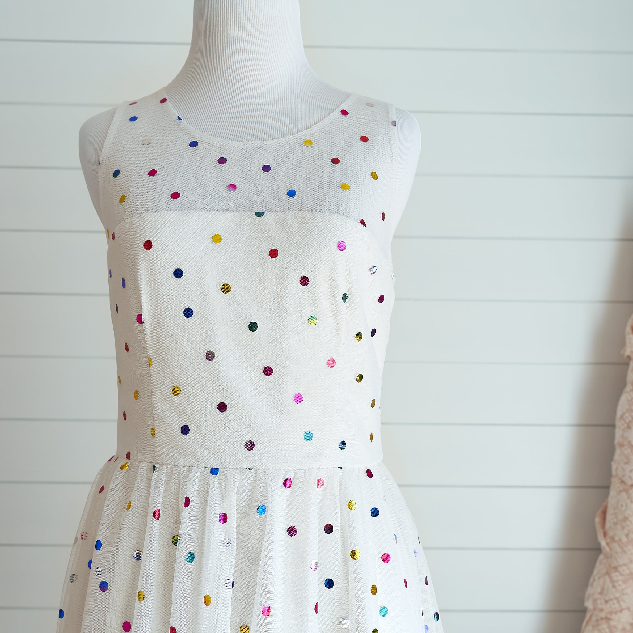 Confetti Dress (Women) - Ivory