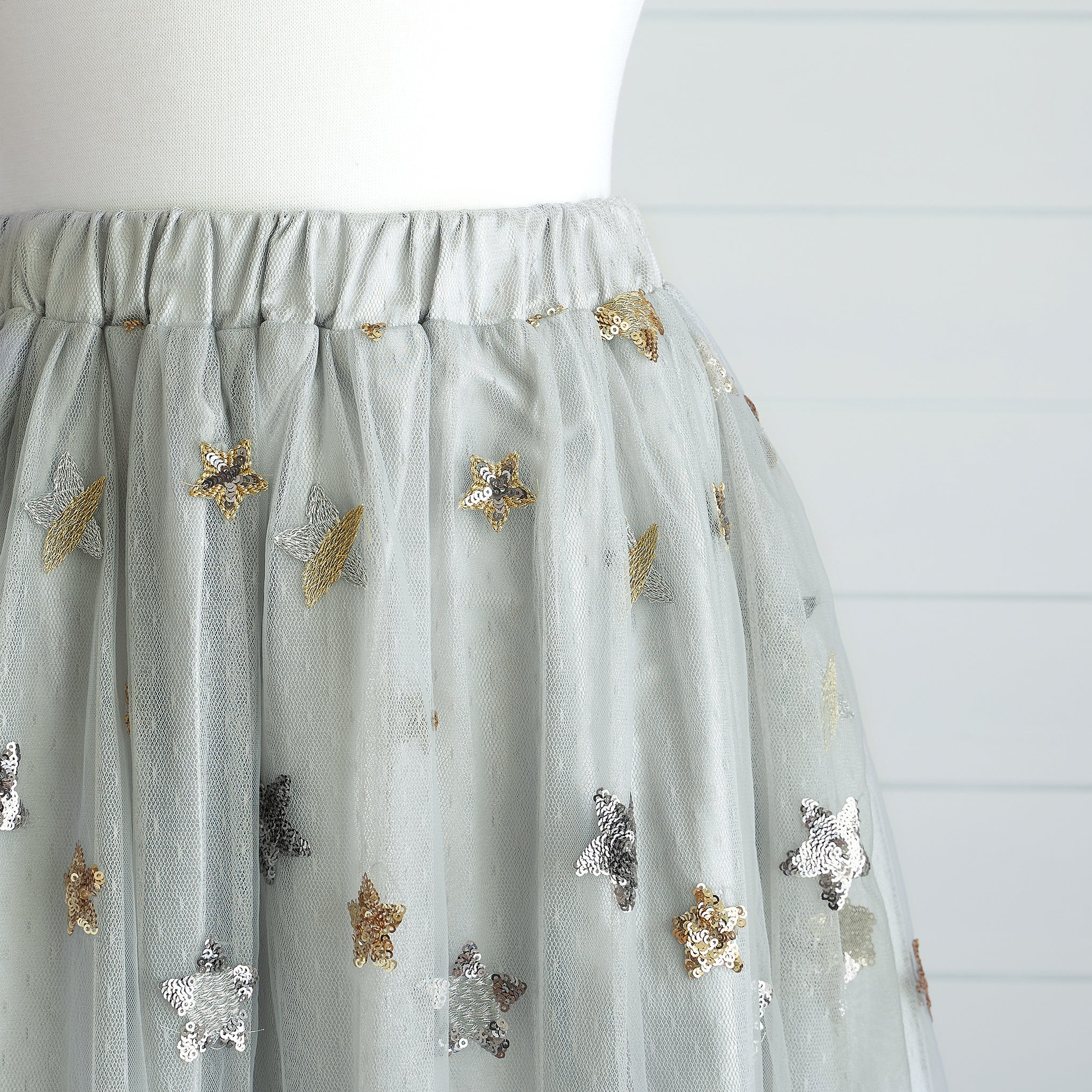 Princess Maxi Skirt (Women) - Dove (Size XS & M Only)