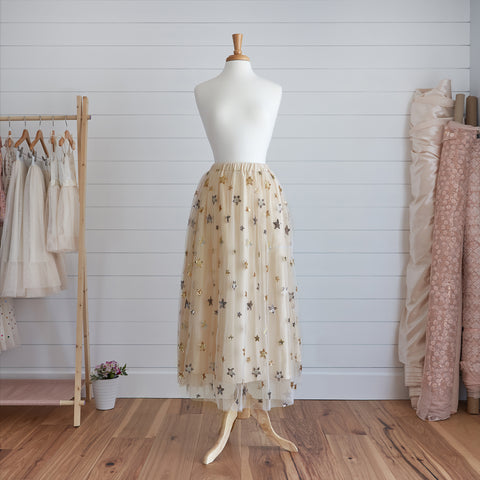 Princess Maxi Skirt (Women) - Pearl (FINAL SALE - Size XS Only)