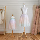 Midi Tulle Skirt (Women) - Rainbow Magic (Size S & M Only)
